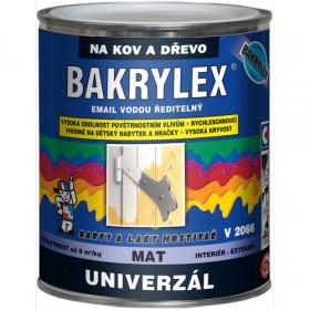 Водорозчинна емаль для дерева та металу BAKRYLEX EMAIL UNIVERZÁL V2066