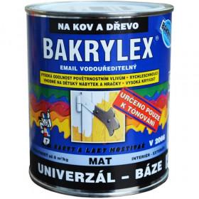 Водорозчинна емаль для дерева та металу BAKRYLEX EMAIL UNIVERZÁL MAT BÁZE V2066