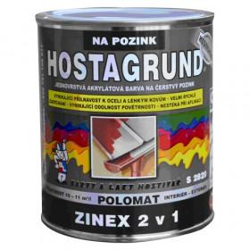 Акрилова фарба для свіжої оцинковки HOSTAGRUND ZINEX 2V1 S2820
