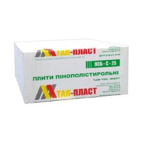 Пенопласт «ТАЛ-ПЛАСТ» 25 (100 мм)