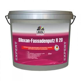 Декоративная штукатурка силоксановая короед DUFA 25 кг